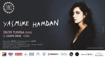 Yasmine Hamdan en concert