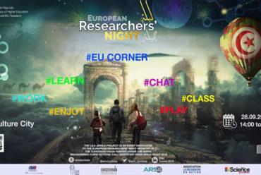 L'Union européenne derrière: La 1ère édition de ''La Nuit des Chercheurs'' à La Cité de La Culture à Tunis