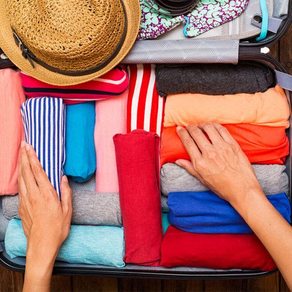 Des astuces pratiques pour gagner beaucoup de place dans une valise